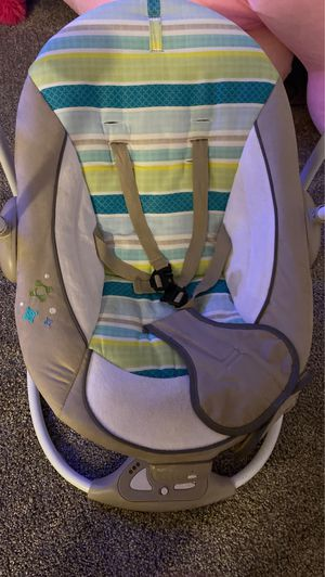 Baby Musical bouncer chair with removable toy for Sale in Brockton, MA