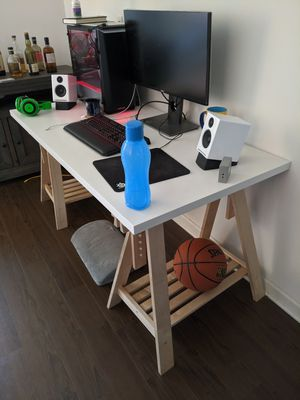 Computer Desk Ikea - Moving Away Salw. for Sale in San Jose, CA