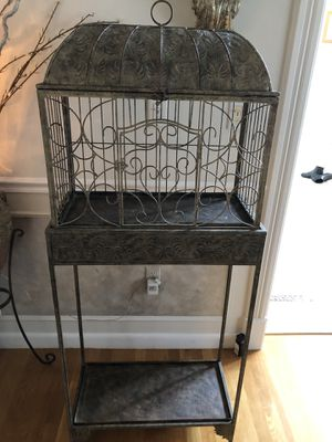 Decorative cage ( 2 x 5 tall ) for Sale in Newton, MA