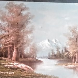Medium Sized C. Norton Painting for Sale in Rio Rancho, NM