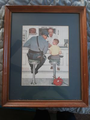 Norman Rockwell - Runaway, hanging art / decor for Sale in Providence, RI