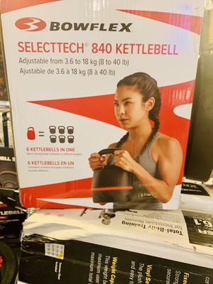 Bowflex SELECTEC kettlebell 840 for Sale in Davie, FL