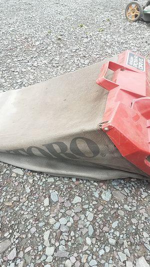 bagger for Toro push mower for Sale in Shickshinny, PA