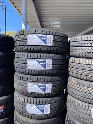235/50R17 SET OF 4 NEW TIRES ON SALE BUY 4 TIRES GET FREE ALIGNMENT for Sale in Lafayette, CA