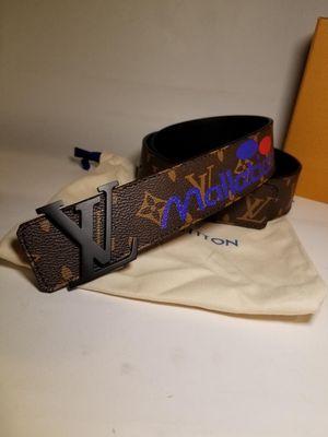 "Louis Vuitton Belt ""100 Logo Story"" 85/34 for Sale in Henderson, NV"