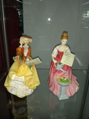 Royal Doulton Ladies Figurines $40 Each for Sale in Nashville, TN