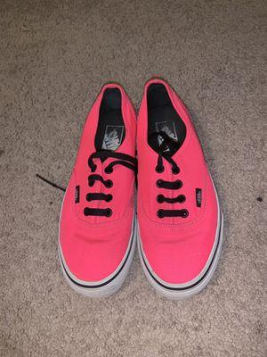 Pink Vans : Size 7 women's for Sale in Longview, TX