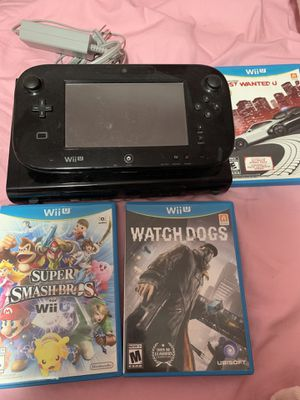 Nintendo Wii U for Sale in Lawrence, MA