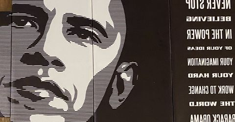 Obama 5 panel artwork for Sale in Washington,  DC