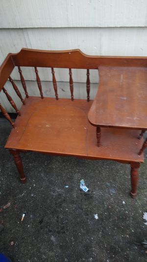 Antique chair and shelf for Sale in Portland, OR