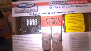 Cudde back digital trial cameras 2 camera starter kit for Sale in Hampton, VA