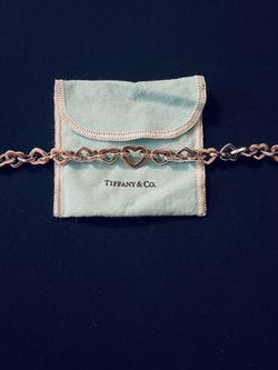 TIffany & Co. Open Heart Link Bracelet in 18K Gold & Sterling - RETIRED for Sale in Deerfield Beach,  FL