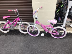 Girls Barbie Bikes $10 EACH** for Sale in Virginia Beach, VA