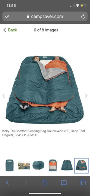 Kelty tru comfort double sleep bag for Sale in Vallejo, CA