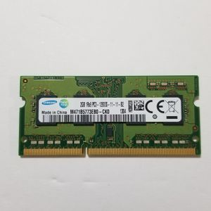 Samsung M471B5773EB0-CK0 - 2GB (1x2GB) 1600Mhz PC3-12800S DDR3-1600 Laptop Memory for Sale in Peabody, MA