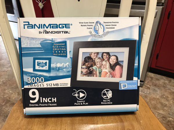 Panimage by Pandigital digital photo frame