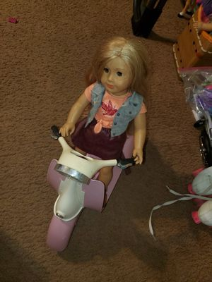 American girl doll Tenney and scooter for Sale in Litchfield Park, AZ