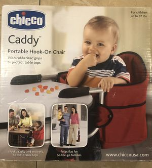 Portable hook-on chair by chicco for Sale in San Francisco, CA