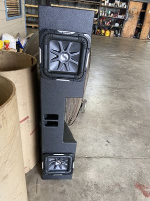 10 kicker L7s brand new probox for Chevy for Sale in Houston, TX