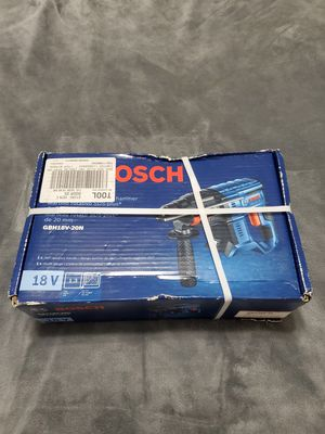 """Bosch 3/4"""" 18v SDS plus rotary hammer for Sale in Riverview, FL"""