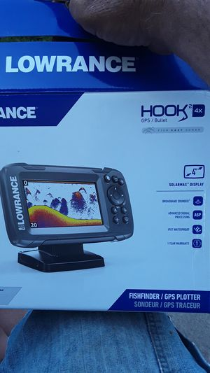 Lowrance Fishfinder bullet 2 4x for Sale in Iron Mountain, MI