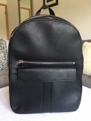 Zara Backpack Black Leather New for Sale in Chicago, IL