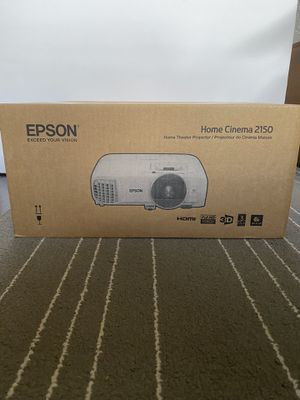 New Epson Home Cinema 2150 Projector for Sale in Pembroke Pines, FL
