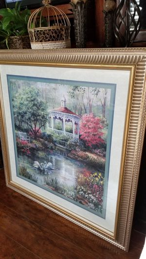 Beautiful picture framed by Home Interiors! for Sale in Rancho Cucamonga, CA