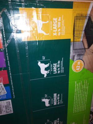 XL Dog crate for Sale in Lodi, CA