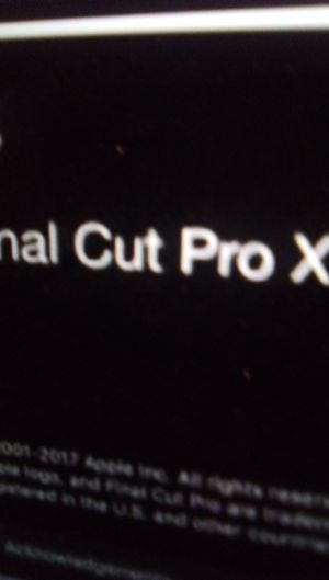 Final Cut pro X 10.4.8 full version for Sale in CA, US