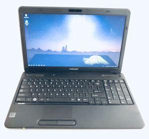 Toshiba 15 laptop, AMD, 4gb ram, 250gb hd, win10, office16 for Sale in Plano, TX