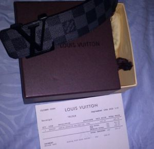 Louis Vuitton Belts for Sale in Bronx, NY