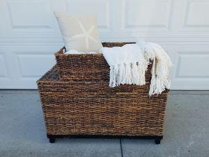Wicker storage baskets for Sale in Irvine, CA