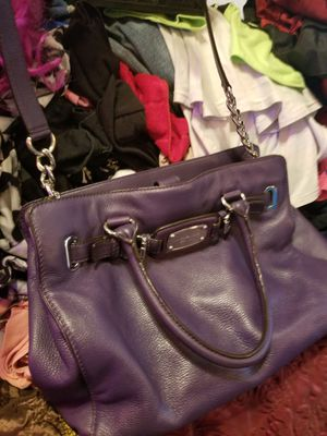 Purple Michael Kors Purse for Sale in Austin, TX