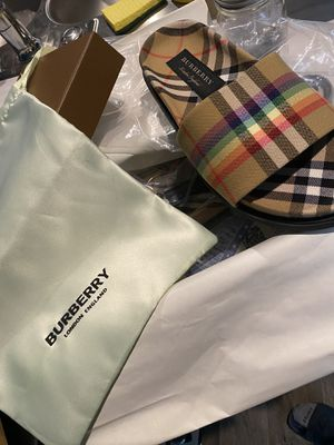 Brand New Burberry Slides for Sale in Houston, TX