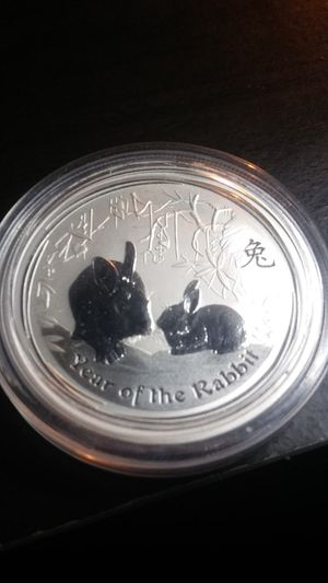 2011 Australian Silver Coin - Year of the Rabbit for Sale in Wenatchee, WA