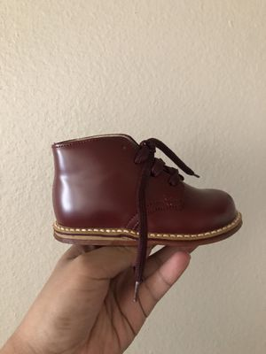 Burgundy boots for Sale in Riverside, CA