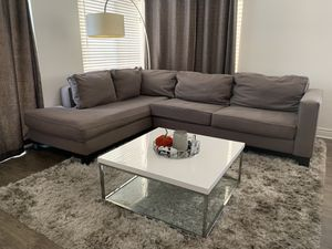 Sectional Couch and rug for Sale in San Jose, CA
