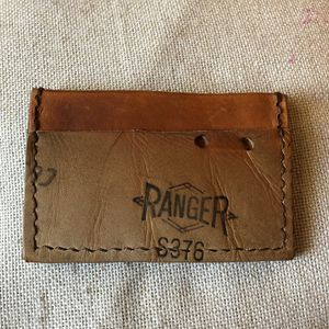 Minimilist Men's Wallet Hand Made From Baseball Glove Leather EDC Very Cool for Sale in Delray Beach, FL
