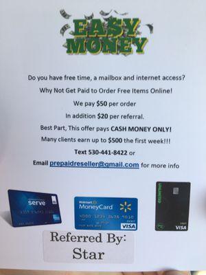 Easy cash for Sale in Sacramento, CA