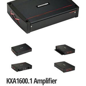 Like New Kxa1600.x1 Kicker With Wireless Remote! Pounds My 15 Kicker! for Sale in San Jose, CA
