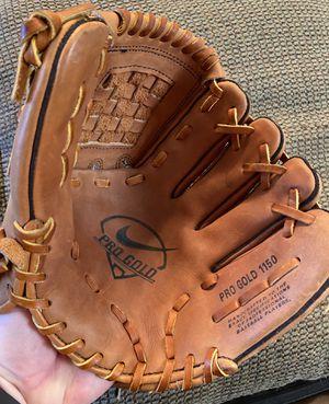 "Nike Pro Gold 1150 baseball glove 11.5"" for Sale in Gilbert, AZ"