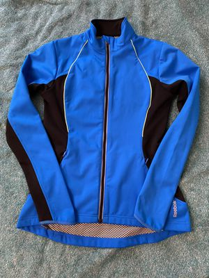 Reebok Blue Sports Coldwear Zip-Up Running Top for Sale in Ithaca, NY