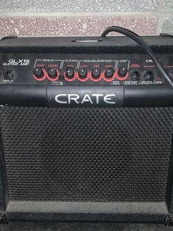 Crate GLX15 Guitar Amp for Sale in Wenatchee,  WA