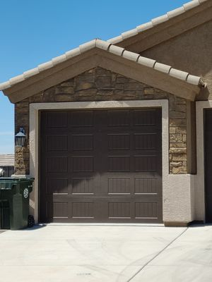 9 Ft wide 8 Ft high Garage door, comes with spring and rollers. $150 OBO $300 Installed for Sale in Las Vegas, NV