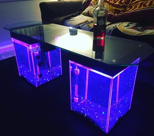 AquaTables - Aquarium Fish Tank Coffee/End Tables/TV Stand-4 living room,sofa,sectional,bed,chair,rug,carpet,desk,recliner for Sale in Arlington, VA