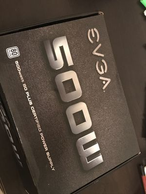Cooler Master 500W power supply (in evga box) for Sale in Las Vegas, NV