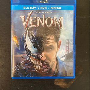 Venom Blu-Ray + DVD for Sale in Anaheim, CA