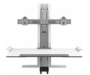 DUAL MONITOR STAND ONLY! I CAN DELIVER TO THE CHICAGOLAND AREA. for Sale in Chicago, IL