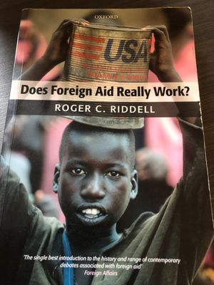 Does Foreign Aid Really Work? for Sale in Washington, DC